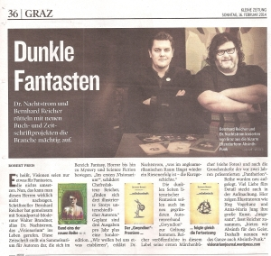Kleine Zeitung 16. 2. 2014 S. 36 - Visionarium